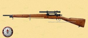 G&G GM1903 A4 Bolt Action Rifle (Real Wood, Gas Version)